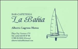 Bar Cafeteria La Bahia de Roses